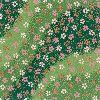 友禅和紙 半才 水紋花・緑 (×2枚)